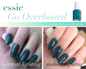 Essie Go Overboard Swatch & Review