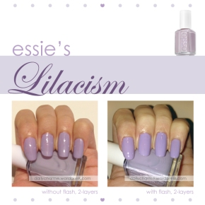 Essie Lilacism Swatch & Review