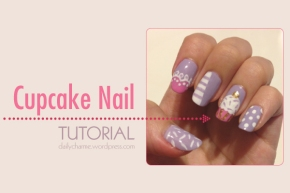 Tutorial: Cupcake Design in Spring Colors!