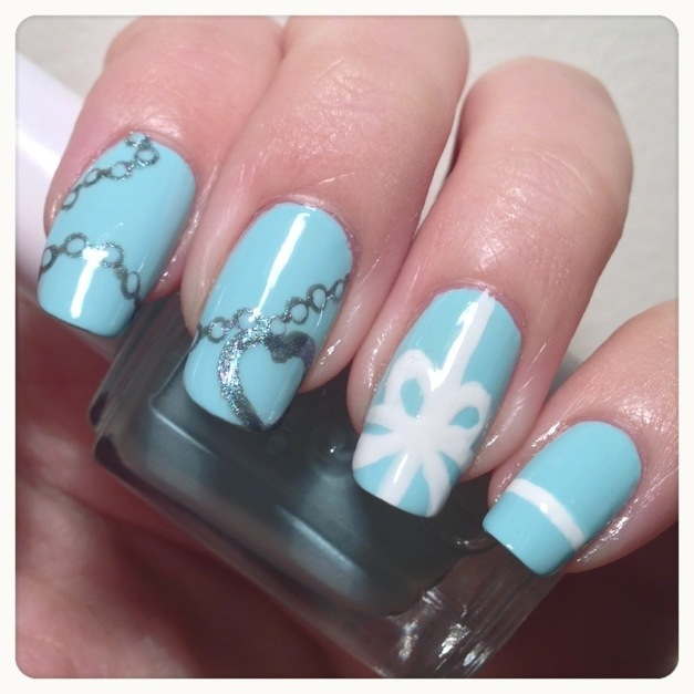 Tiffany co inspired nails daily charme 20130217 223908g prinsesfo Images