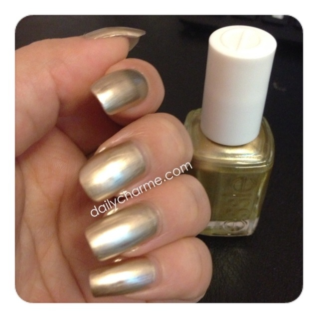 Essie Gold Nail Polish: Essie Good As Gold Swatch & Review