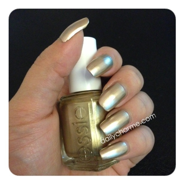 Essie Good As Gold Swatch Amp Review Daily Charme