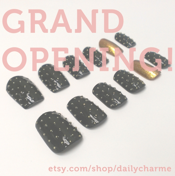 Etsy Shop Grand Opening