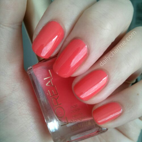 L'Oreal Colour Riche Nail Color – Tangerine Crush Swatch | daily ...