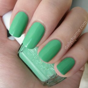 Essie 2013 Resort Collection – First Timer Swatch & Review