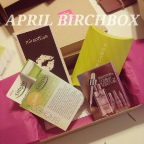April 2013 Birchbox Review