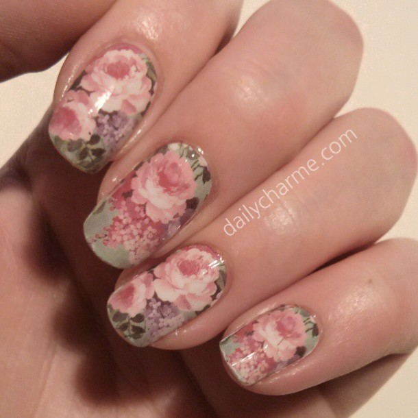 Floral Water Transfer Nail Decals