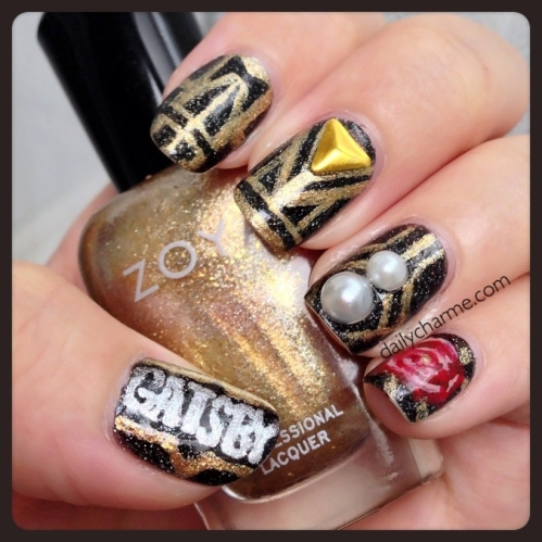 the great gatsby nail