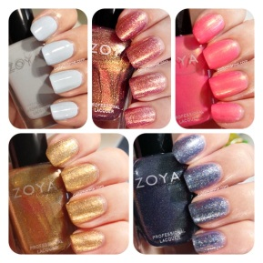 Zoya Earth Day Haul Swatches & Review Part 2