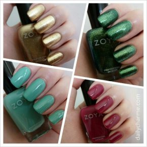Zoya Earth Day Haul Swatches & Review Part 1