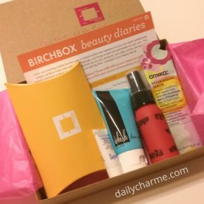 Super Late Review: May 2013 Birchbox!