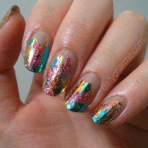Sparkling Metallic NailFoils