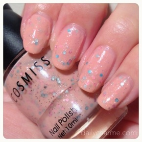 Sweet Nail Polish & Cosmiss Nail Polish Swatch/Review