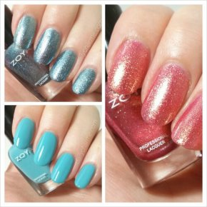 Swatch & Review: Zoya Instagram Trio