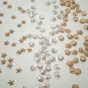 Nail Charms: Seashells & Diamonds & ManyMore!